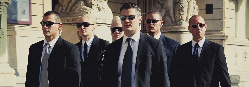 Celebrity body guards
